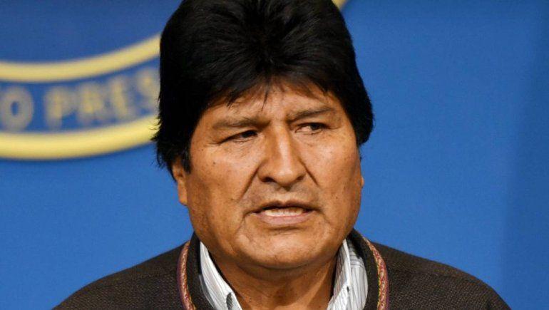 Evo Morales se contagió de Covid-19