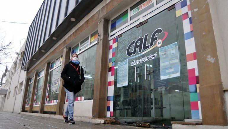 CALF prevé que solo recaudará el 60 por ciento de sus facturas