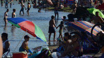 ola de calor: cuando llega el alivio a la region
