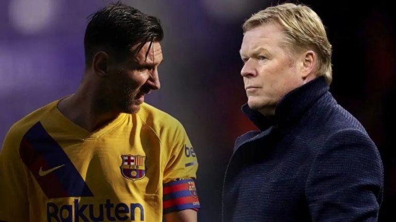 El nuevo DT del Barcelona y Messi