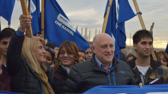 Por el caso Maldonado se paralizó la campaña política en Neuquén