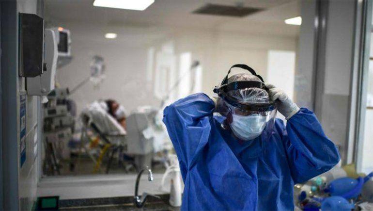 COVID en Argentina: 447 nuevas muertes y 18.057 contagios