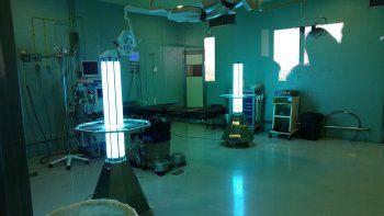 los espacios cerrados pueden convertirse en seguros por la luz uv
