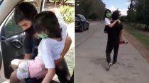 la historia de abigail, el video desgarrador y el dibujo que se hizo viral