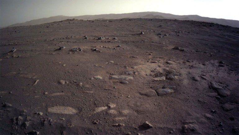 El rover de la Nasa envió impresionantes imágenes de Marte