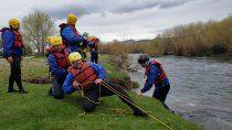 junin de los andes: conformaran un grupo de rescate en rios de montana