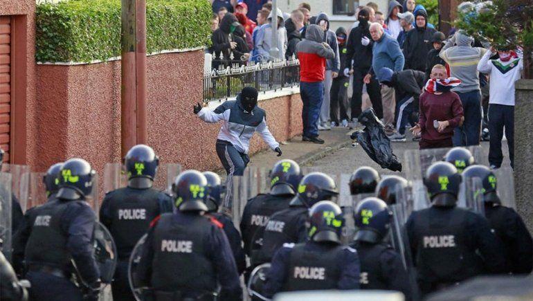 Irlanda del Norte: heridos y disturbios