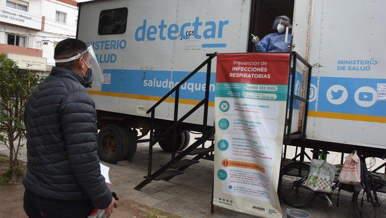 Con 375 positivos en un día, Neuquén superó la barrera de los 25 mil