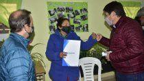 valentina sur: 350 familias podran tener los servicios