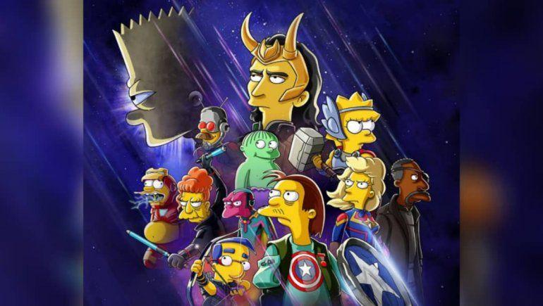 Disney Plus: Los Simpson tendrán un especial con temática de Loki.