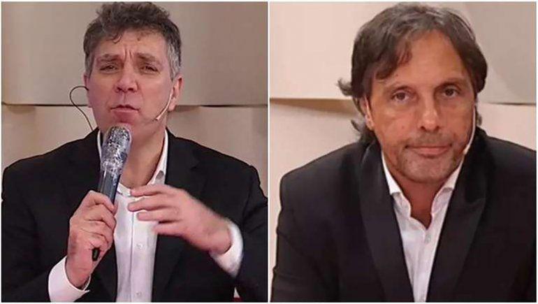 Fuerte cruce entre Gustavo López y Leo Gentili por el VAR