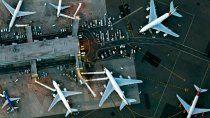 estiman que aeropuertos del mundo perderan este ano us$ 90.000 millones