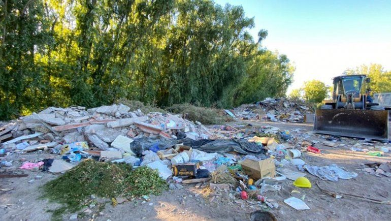 Súper operativo de limpieza: juntaron 200 toneladas de basura