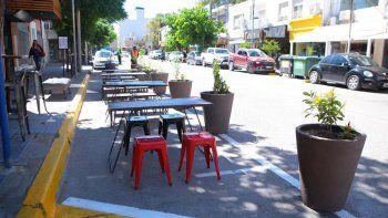 bares y restaurantes pueden ocupar la calle para sumar mesas