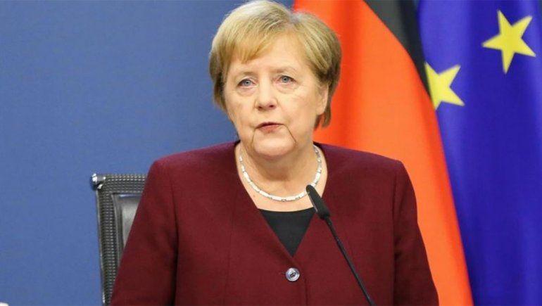 Merkel quiere que las restricciones continúen hasta marzo