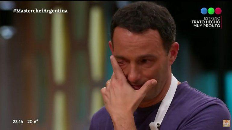 MasterChef: Fernando Carlos se quebró y lloró por la devolución del jurado
