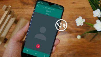 Ya podés evitar que las llamadas de WhatsApp suenen como robot.