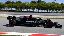 Lewis Hamilton logró su pole position 100 en la Fórmula 1