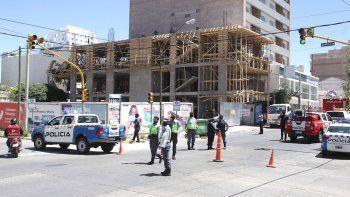 Derrumbe en el centro: ¿Qué pasará ahora con la obra en construcción?