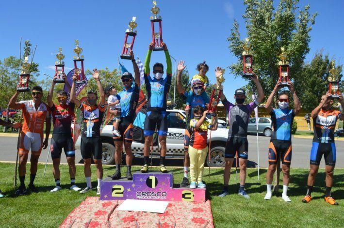 El ciclismo de ruta volvió en Cutral Co: conocé los resultados