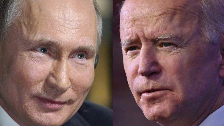 Putin-Biden: sin palabras en conjunto