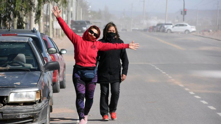 El pronóstico para hoy: frío y ventoso en la región