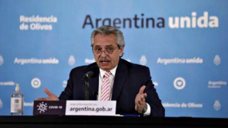 Alberto Fernández confirmó que las clases arrancarán en marzo
