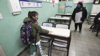 En imágenes: el regreso de clases presenciales en Neuquén