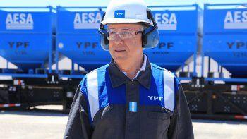 Nielsen deja su cargo en la presidencia de la petrolera YPF