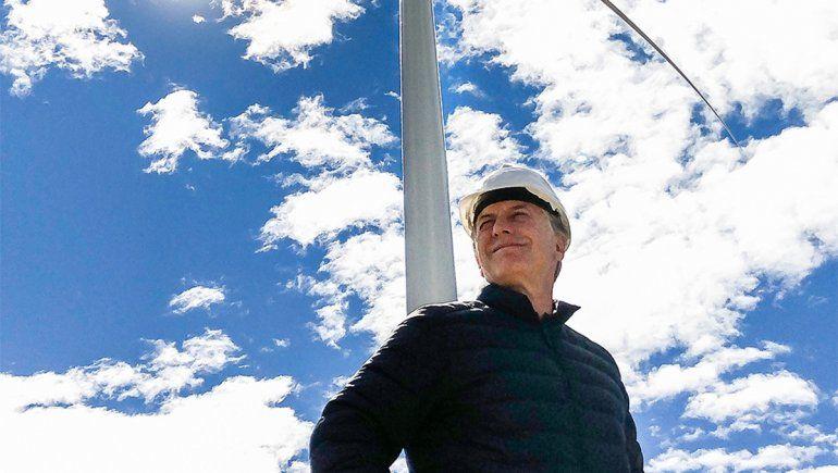 Mauricio Macri inauguración parques eólicos.