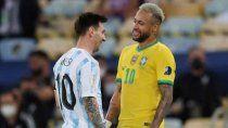 con los reyes de america y clima caliente, argentina visita a brasil
