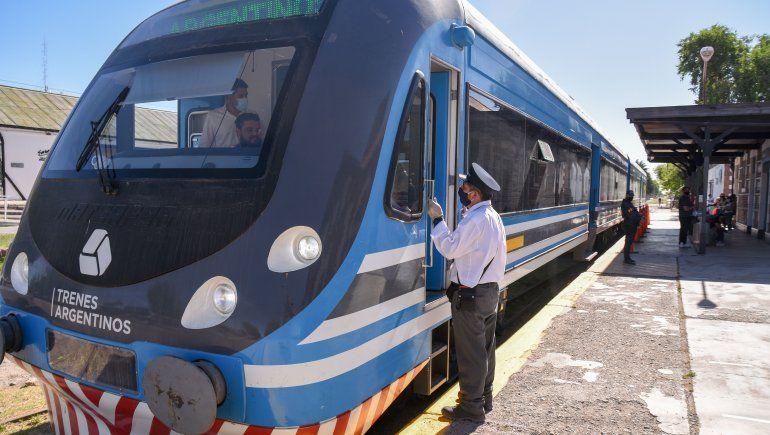 El Tren del Valle llegará a Plottier desde el lunes 29