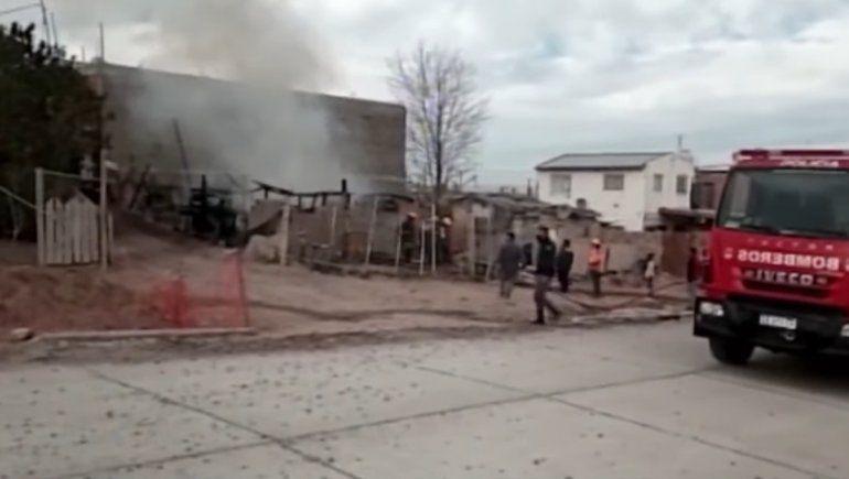 Zulema perdió su casa por un incendio
