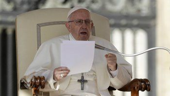 el papa se solidarizo con el pueblo cubano en estos momentos dificiles