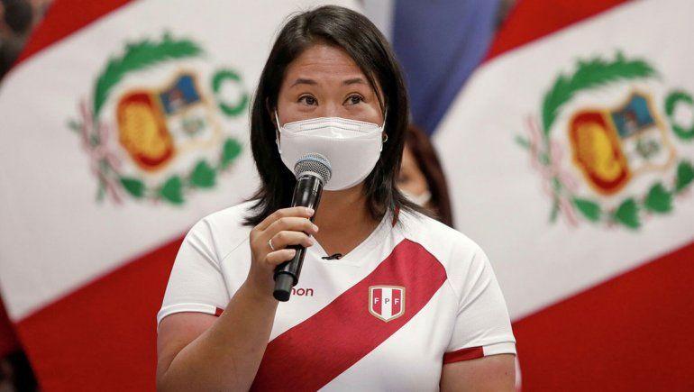 Ordenan detener a Keiko Fujimori por el Lava Jato