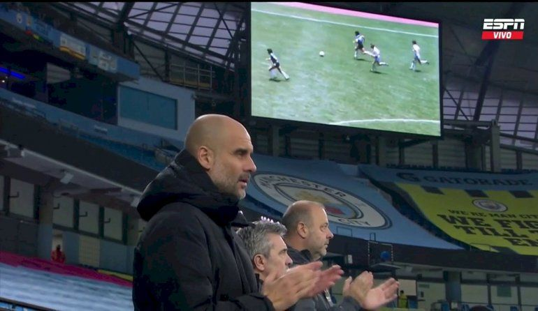 El City homenajeó a Maradona con un dolor inglés: El Gol del Siglo