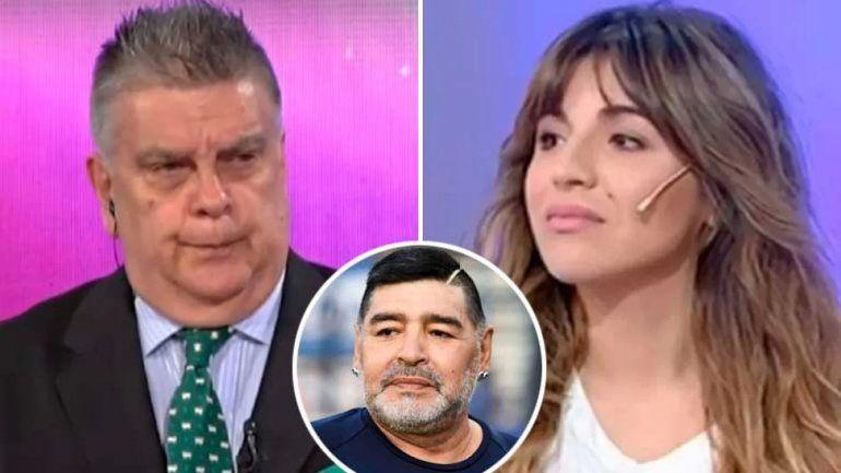 Gianinna Maradona fulminó a Ventura: Mi viejo te odiaba