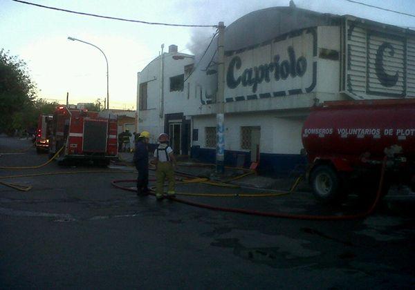 Hace un tiempo, Capriolo sufrió un principio de incendio.