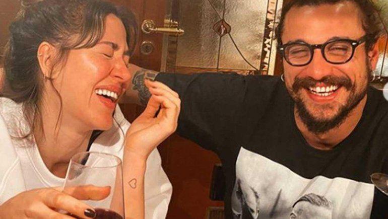 La cuarentena unió a la familia: Jimena y Osvaldo bajo el mismo techo