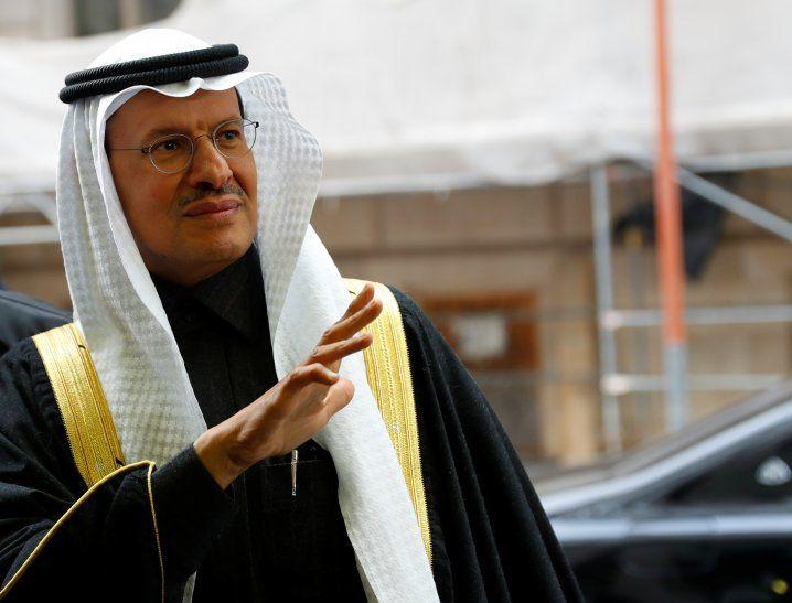 Foto del viernes del ministro de Energía de Arabia Saudita