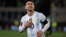 argentina le gano a bolivia con hack-trick de messi y un nuevo record