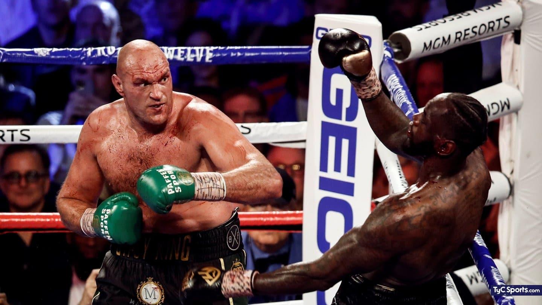 birra, manicito y a ver la pelea del ano: hora y tv de fury-wilder