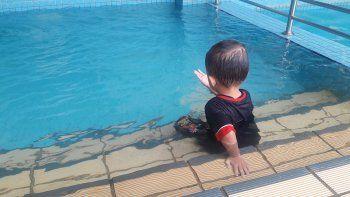 cada cinco dias, en el pais un menor de 4 anos muere ahogado