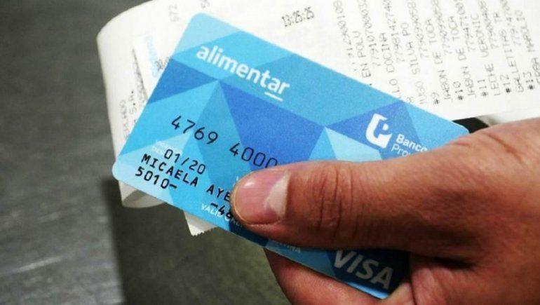 Tarjeta Alimentar: calendario de pagos para quienes no tienen el plástico