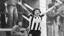 Nadie hizo más goles que el Bambi Flores con la camiseta de Cipo en el Nacional: 13.