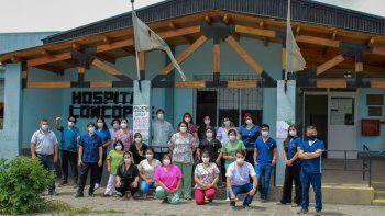 Joyeros del mundo homenajearon a los héroes del hospital de Loncopué