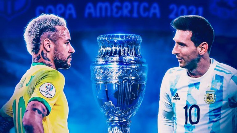 Argentina y Brasil definen la Copa América: formaciones, hora y TV