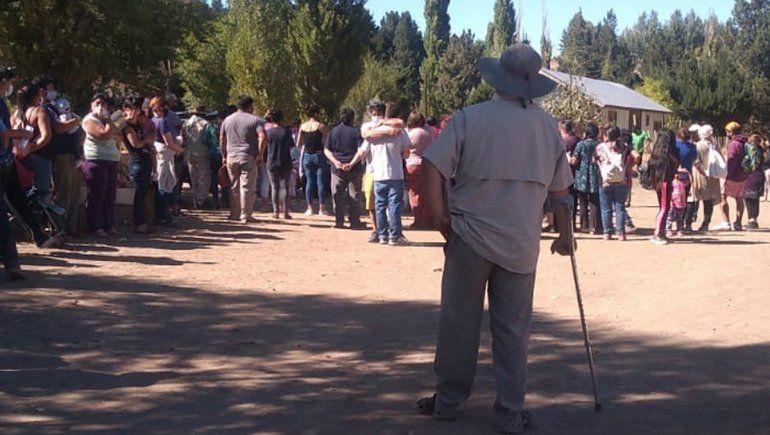 Los restos de Guadalupe descansan en Villa Llanquín
