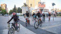 ciclistas se movilizaron para exigir seguridad en neuquen