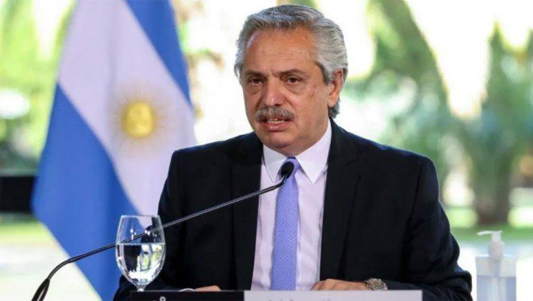 Alberto Fernández anunció un aumento para los jubilados en diciembre